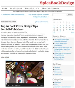 Thank you to Iryna Spica of Spica Book Design for featuring this article on her website.