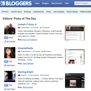Bloggers Pick Of The Day