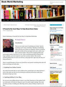 Thank you very much to Lynnette Phillips for posting and linking to my article