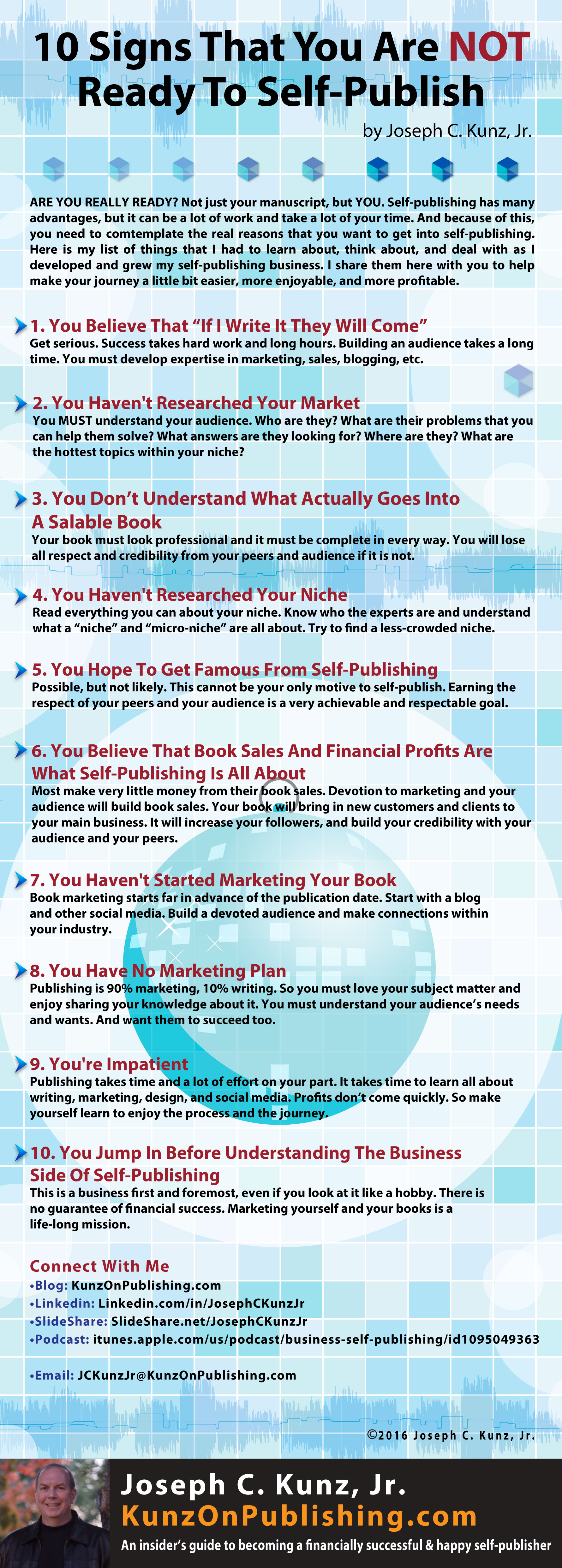 10 Signs That You Are Not Ready To Self-Publish