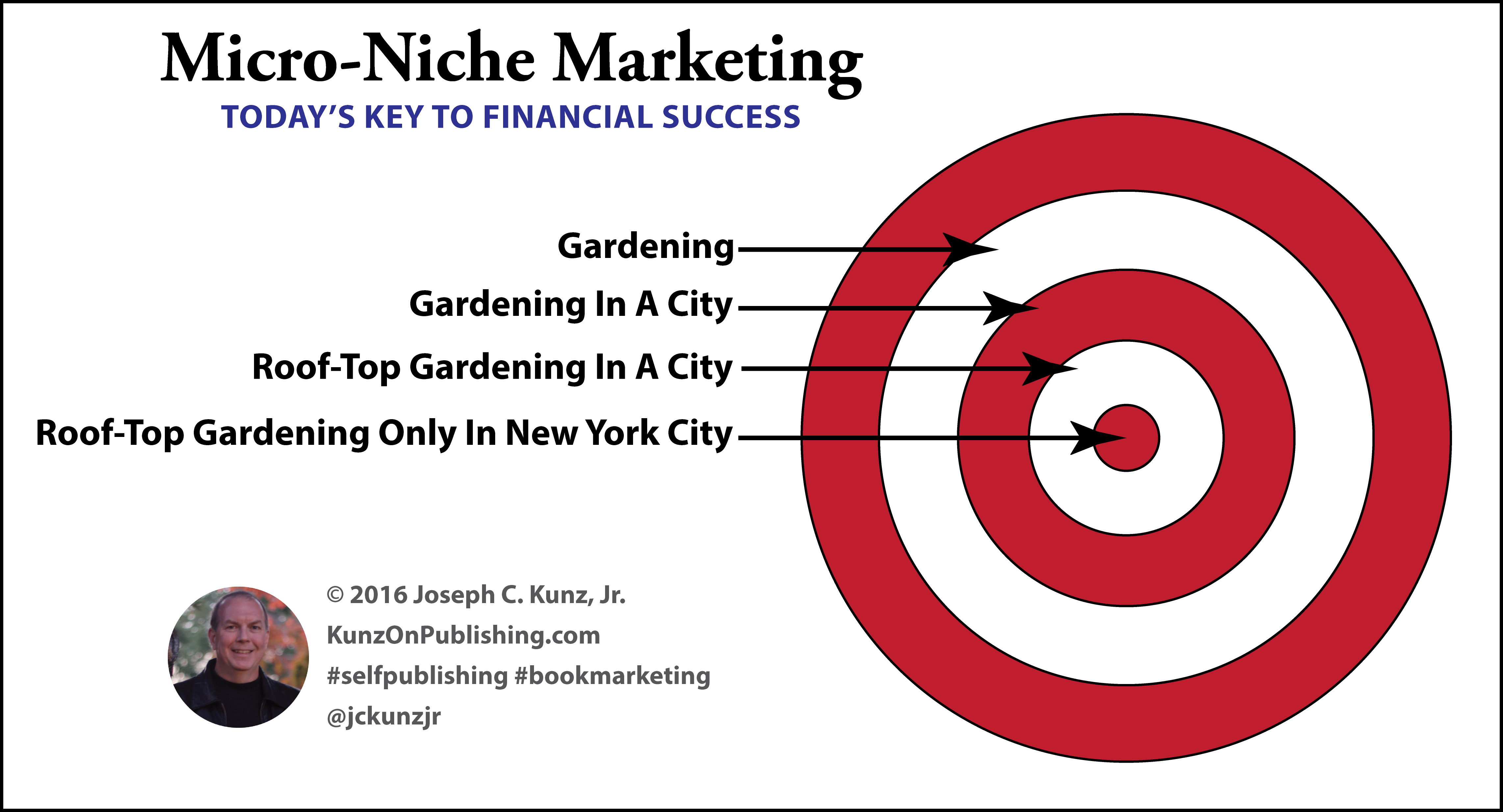 Micro-Niche Marketing: Today's Key To Financial Success (Infographic)