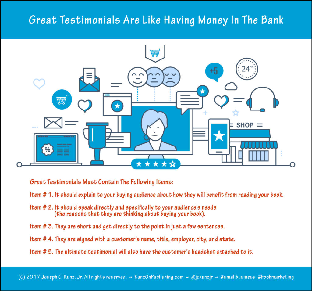 Great Testimonials Are Like Having Money In The Bank Infographic