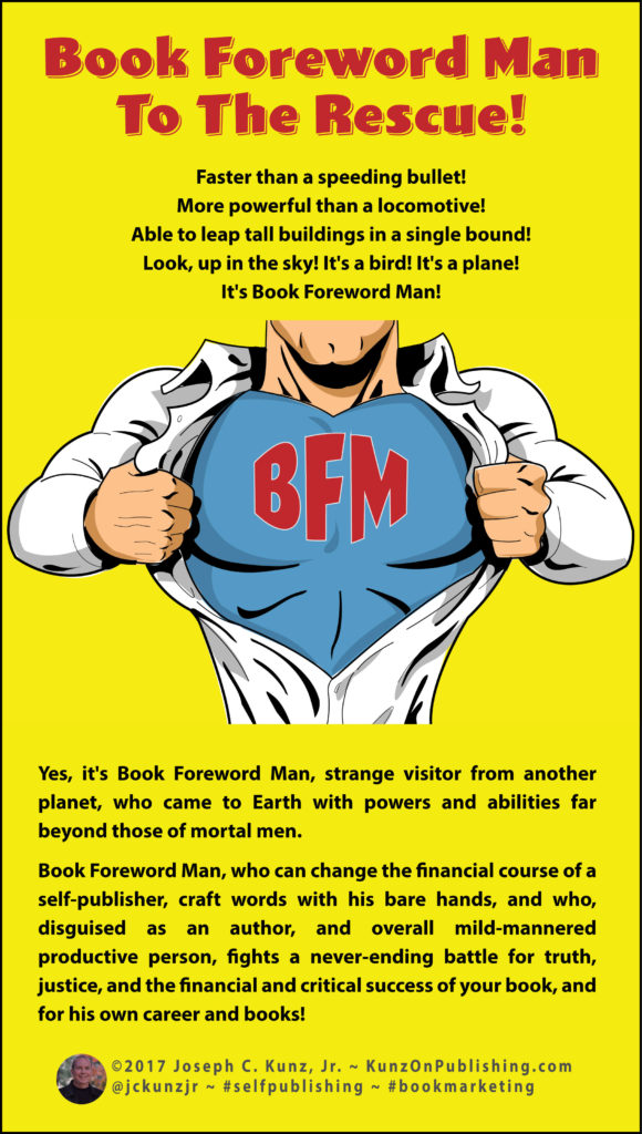 Book Foreword Man To The Rescue! Infographic