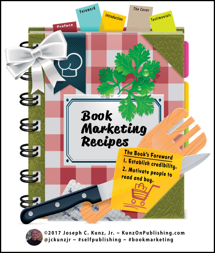 Book Marketing Recipes Book For The Book's Foreword