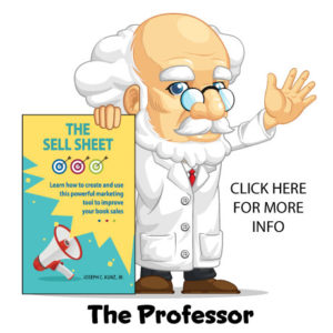 The Professor Can Help You Sell More Books!