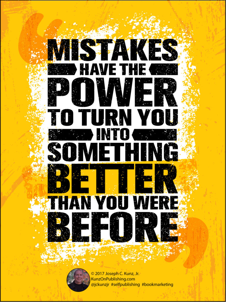 Mistakes Have The Power To Turn You Into Something Better Infographic