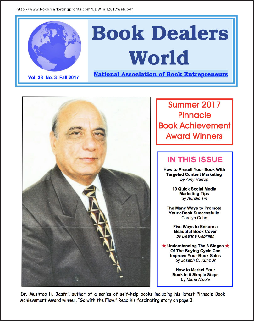 "Thank you very much to author Al Galasso, of NABE, for publishing of my article in ""Book Dealers World"", the publication of the NABE-National Assoc. of Book Entrepreneurs"