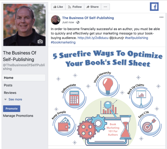 5 Surefire Ways To Optimize Your Book's Sell Sheet