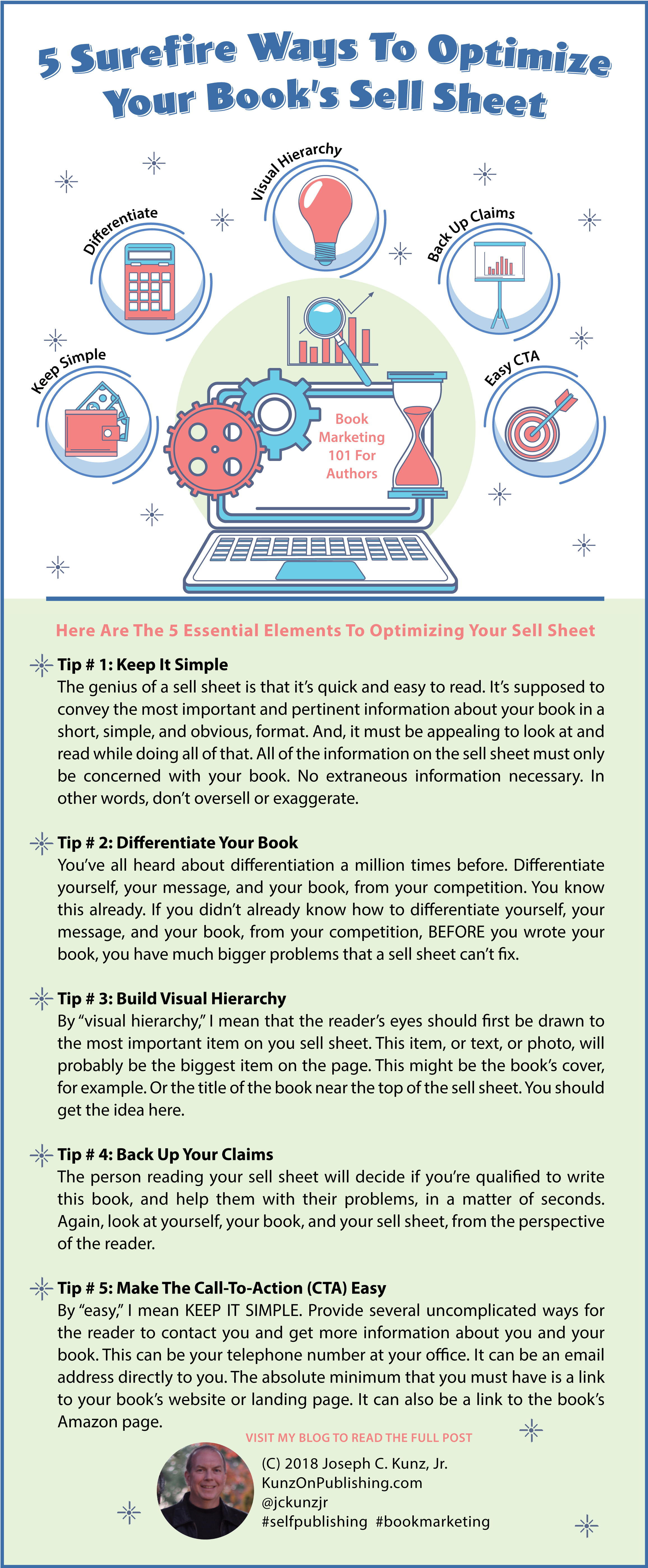 5 Surefire Ways To Optimize Your Book's Sell Sheet (Infographic)