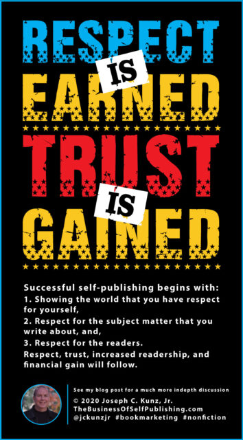 Respect is Earned, Trust is Gained (Infographic)