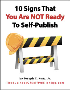 10 Signs That You Are Not Ready To Self-Publish Ebook 2020