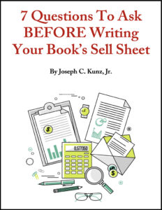7 Questions To Ask Before Writing Your Book's Sell Sheet free PDF
