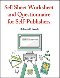 Sell Sheet Worksheet And Questionnaire For Self-Publishers free download 2020 cover