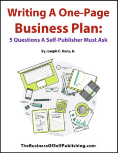 Writing a One Page Business Plan 5 Questions A Self Publisher Must Ask free download 2020 cover